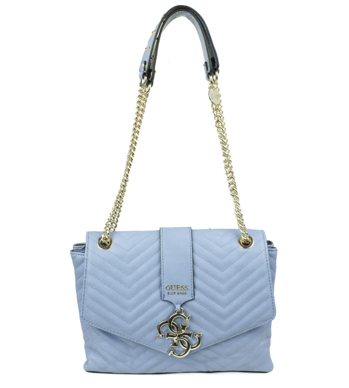 Dámská světle modrá kabelka Guess c3a87c3d4ac